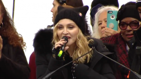 "Madonna Responds To News She'll Be Investigated For ""Violent Threats"" Against Trump"