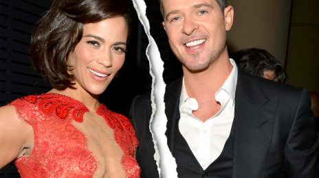 Robin Thicke Temporarily Loses Custody of Son After Restraining Order Granted For Ex-Wife Paula Patton