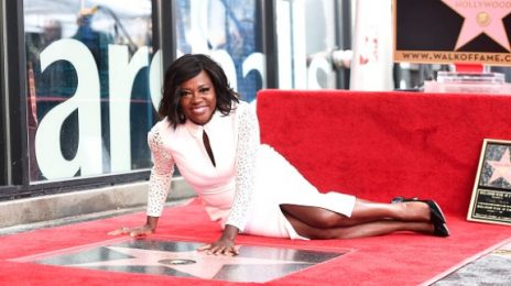 Viola Davis Receives A Star On The 'Hollywood Walk Of Fame'