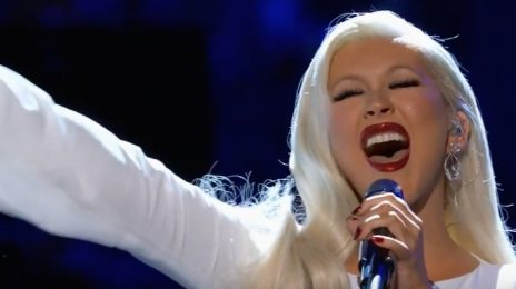 Watch: Christina Aguilera Soars With 'Stormy Weather' On 'Take The Stage'