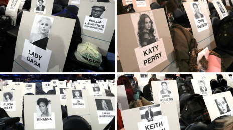 The Grammys Release Star-Studded Seating Chart