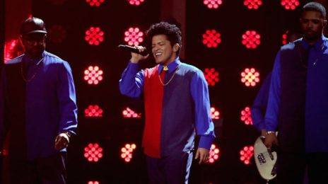 Watch: Bruno Mars Blazes 2017 BRIT Awards With 'That's What I Like'