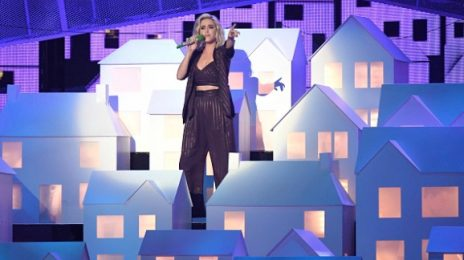 Watch: Katy Perry Performs 'Chained To The Rhythm' At 2017 BRIT Awards