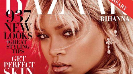 Hot Shots:  More from Rihanna's Soaring 'Harper's Bazaar' Spread