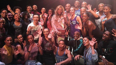Beyonce Surprises Alvin Ailey Dancers In LA
