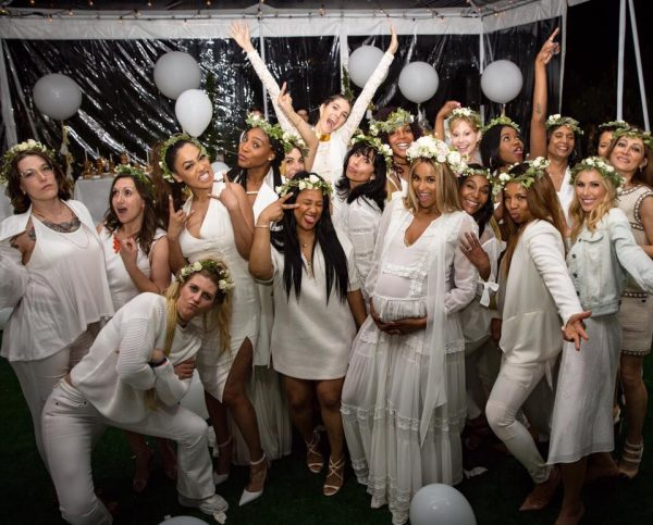 1080e5ecf71 Hot Shots  Ciara Celebrates Baby Shower With Serena Williams