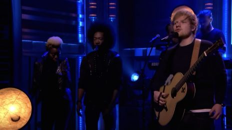 Watch: Ed Sheeran Performs 'Shape Of You' On 'The Tonight Show'