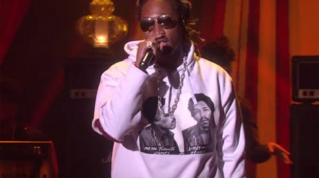 Did You Miss It?  Future Takes 'Incredible' Performance To 'Ellen'