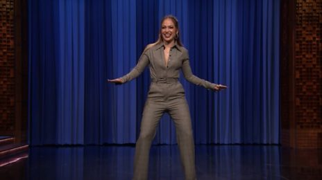 Watch: Jennifer Lopez Dominates Dance Battle On 'Fallon'