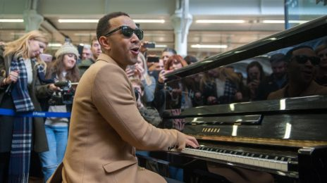 John Legend Surprises With Live Performance At London Train Station