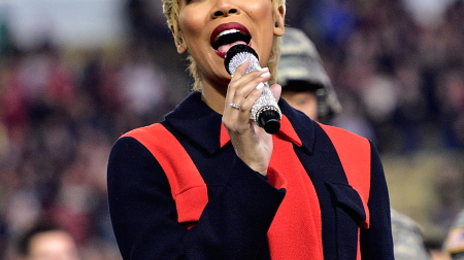 Watch: Monica Performs US National Anthem At Atlanta United Game