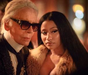 Nicki Minaj Super Fan Tattoos Rapper's Lyrics On Body
