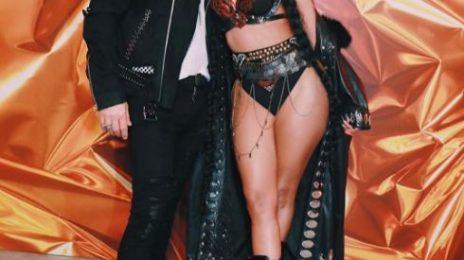 Hot Shots:  Nicki Minaj Turns Up the Heat On Set of 'Light My Body Up' Video