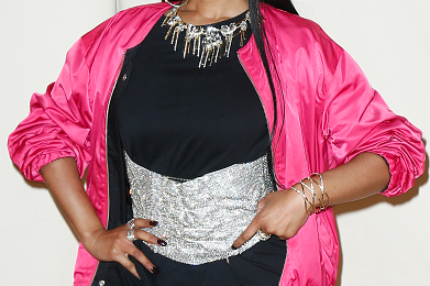 Nicki Minaj Spotted At Paris Fashion Week - As World Awaits Remy Ma Response