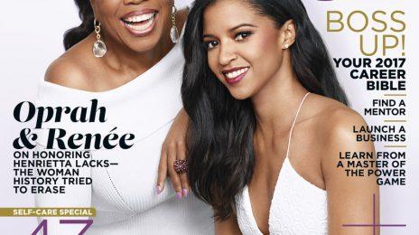 Hot Shots:  Oprah & Renee Elise Shine For 'Essence' [April 2017 Cover]