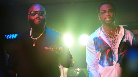 New Song:  Rick Ross & Gucci Mane - 'She's On My D***'