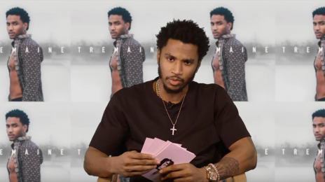 Trey Songz Hits the Promo Trail:  Dishes On Nicki Minaj, Keke Palmer, New Album, & Much More