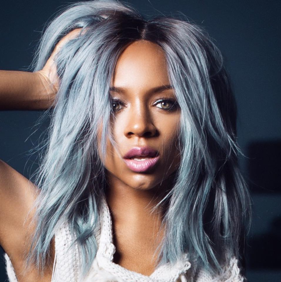 Grey Blue Hair Trend