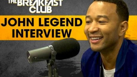 John Legend Hits 'The Late Show' & 'The Breakfast Club' To Dish on New Single, Bill O'Reilly, & More