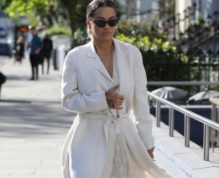 Hot Shots: Rita Ora Stops Traffic In London