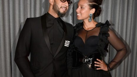 Hot Shots: Alicia Keys & Swizz Beatz Loved Up At Brooklyn Artists Ball 2017