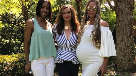 Beyonce & Kelly Rowland Celebrate Easter Together