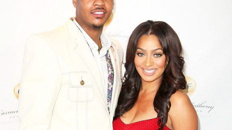 La La & Carmelo Anthony Split