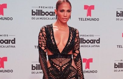 Hot Shots: Jennifer Lopez Blazes Billboard Latin Music Awards 2017