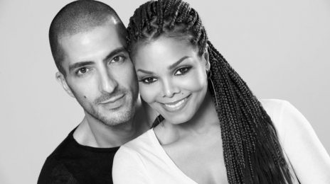 Janet Jackson's Son Eissa Spotted With Father In London