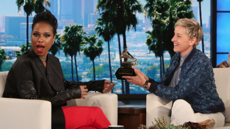 Watch:  Jennifer Hudson Hits 'Ellen' With Live Performance of 'Remember Me'