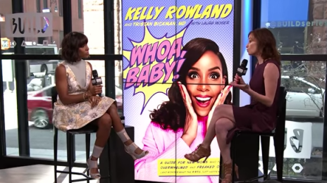 Kelly Rowland on the Promo Trail:  Dishes on New Book, Music, Touring, Boob Jobs, & More