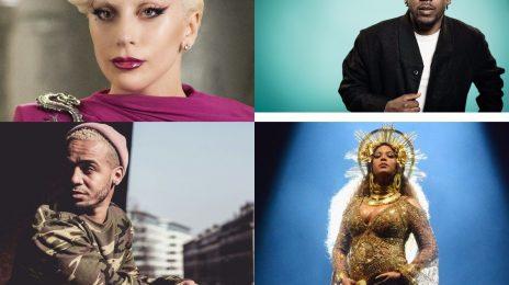 The Stream Scene: Kendrick Lamar, Lady GaGa, Aston Merrygold & Beyonce