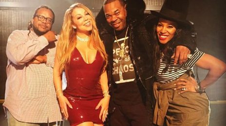 Mariah Carey Shoots New Video With Busta Rhymes