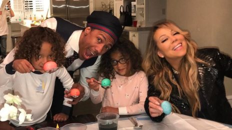 Hot Shot: Mariah Carey Celebrates Easter With Nick Cannon Following Break-Up With Boyfriend