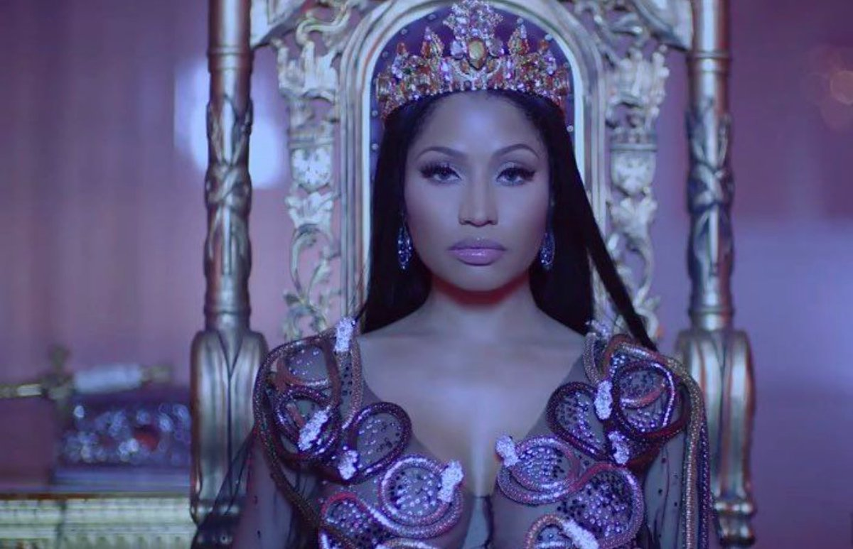 Nicki Minaj's 'PinkPrint' Hits #1 / Becomes First Female Rap Album To Top Itunes This Year