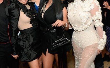 Hot Shots: Nicki Minaj Stuns With Kim Kardashian, Fergie, & More & LA Fashion Show
