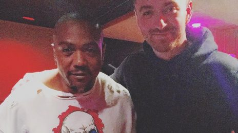 Sam Smith Hits The Studio With Timbaland