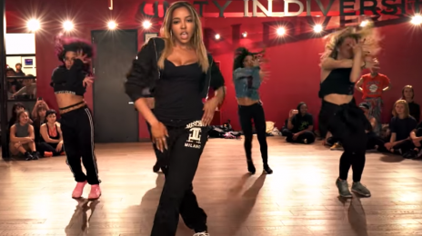 Choreography Video:  Tinashe Burns Up the Dancefloor With 'Flame'