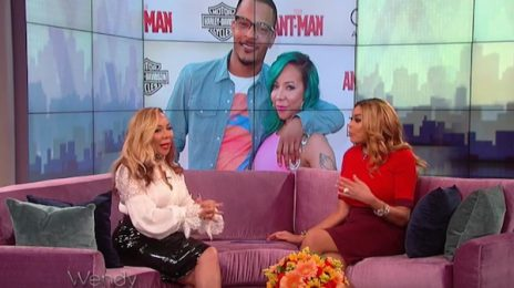 Tiny Visits 'Wendy' / Dishes On T.I. Divorce, Xscape Reunion, & More