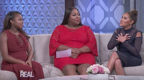 3LW Reunion: Adrienne Bailon Apologizes To Naturi Naughton