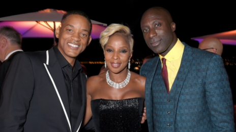 Will Smith Parties With Mary J. Blige & Naomi Campbell At Cannes