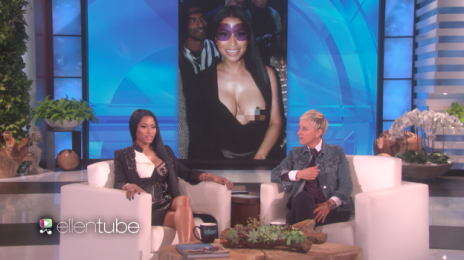 Watch: Nicki Minaj Hits 'Ellen' / Confirms Nas Romance?
