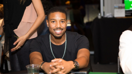 Michael B. Jordan Burgled