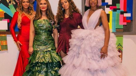 Beyonce Shares More From Wearable Art Gala / Honors Mom