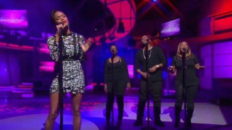 Watch: LeToya Luckett Belts 'Back 2 Life' Live