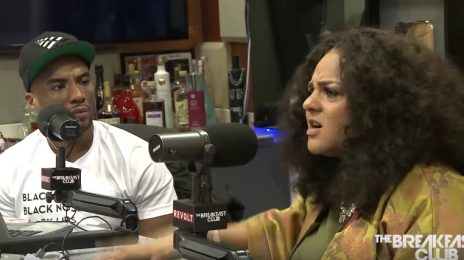 Marsha Ambrosius Spills On Shocking Reason For Floetry's Latest Split, Motherhood, & More On 'The Breakfast Club'
