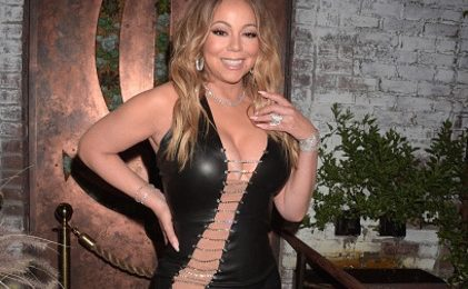 Mariah Carey Launches Record Label In Revealing Ensemble