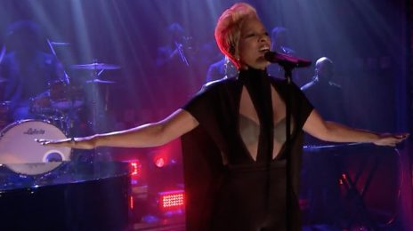 Mary J. Blige Rocks 'Fallon' As Album Sales Predictions Are Revealed