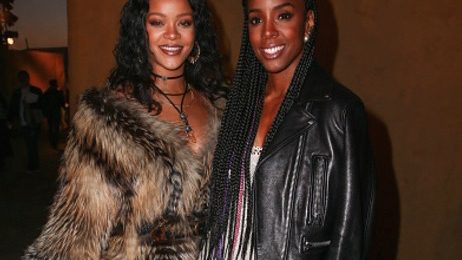 Hot Shots: Rihanna & Kelly Rowland Dazzle Together At Dior Show