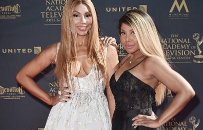 Hot Shots: Tamar & Toni Braxton Dazzle At Daytime Emmys